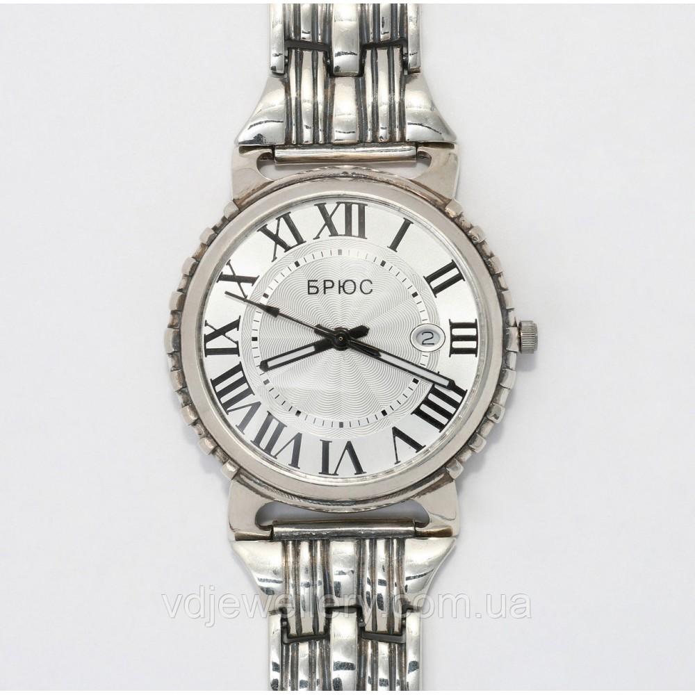 Мужские серебряные часы 0539