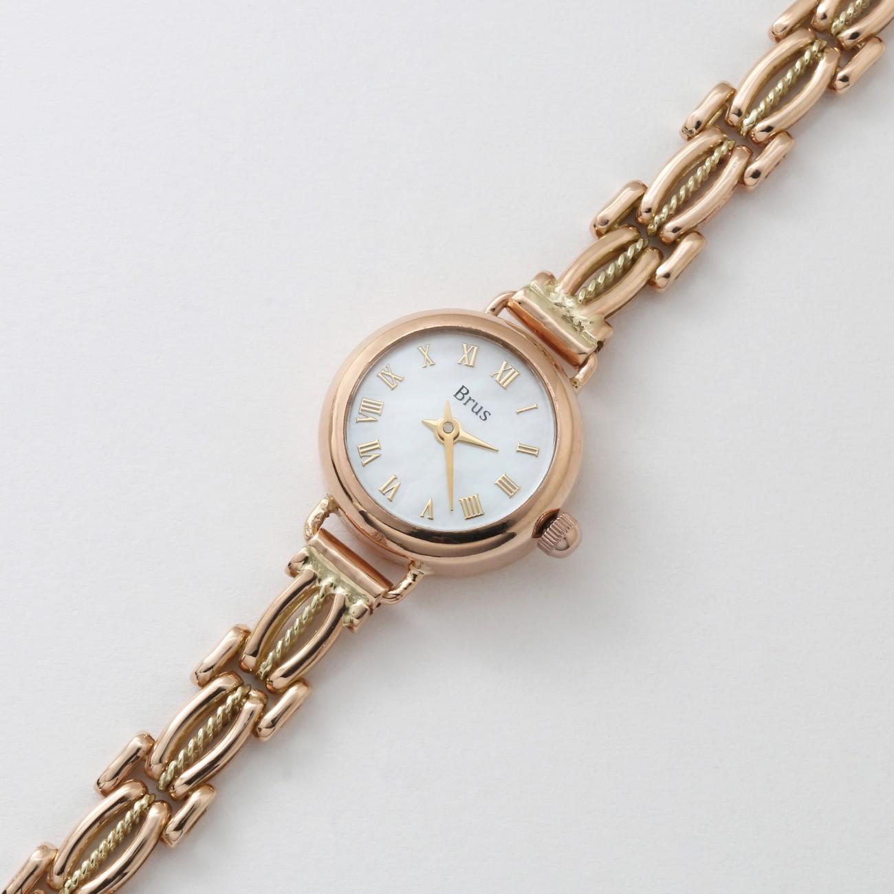 Женские золотые часы 0567