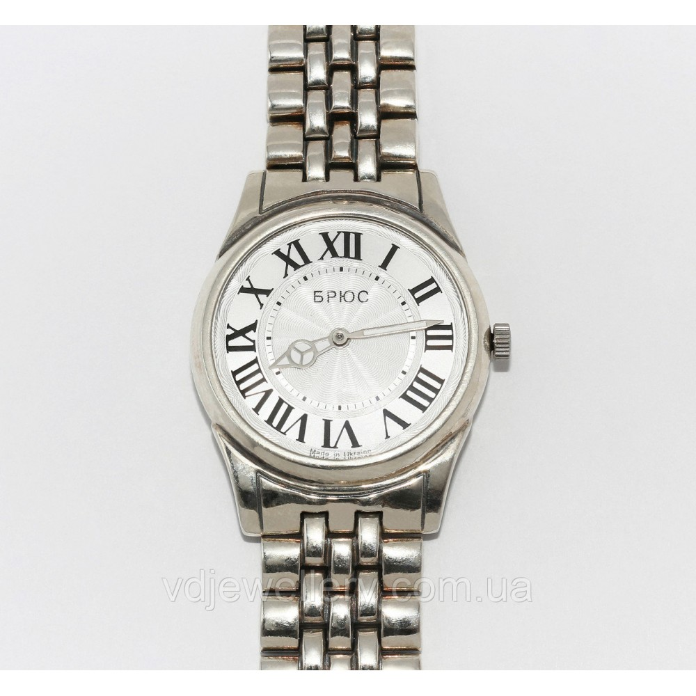 Мужские серебряные часы 0544