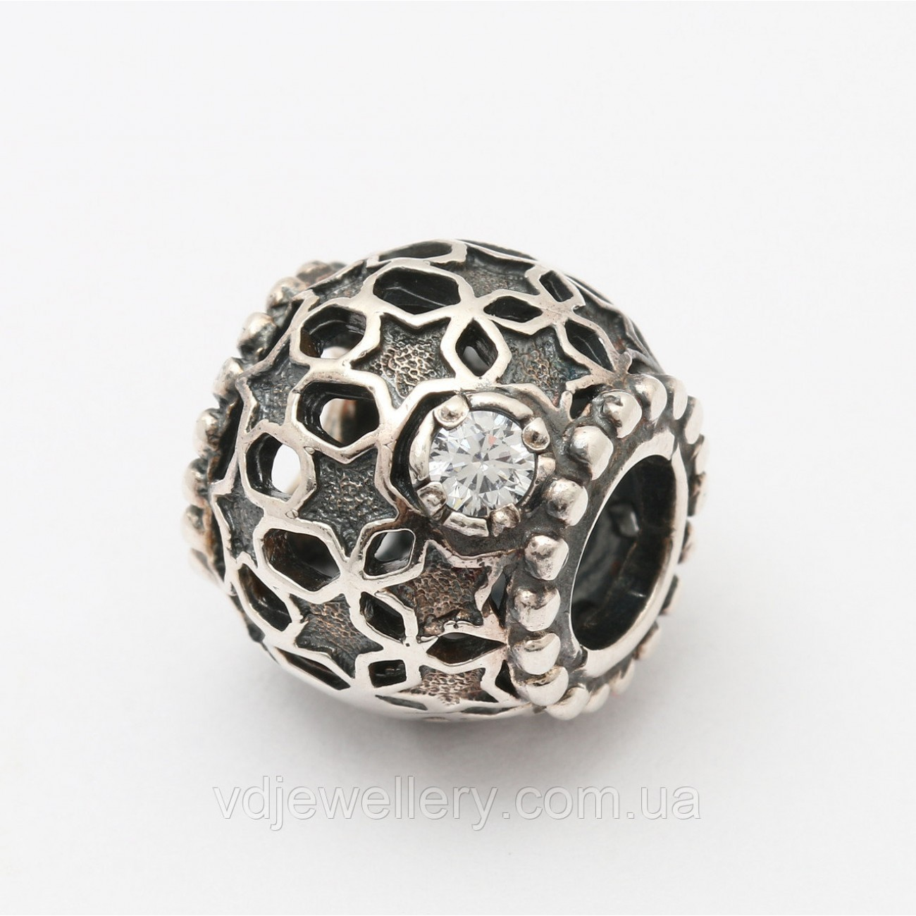 Серебряная бусина для Pandora