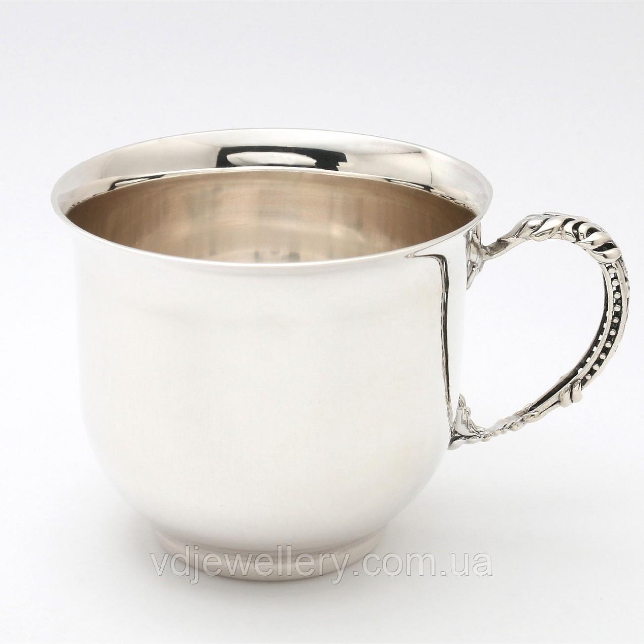 Серебряная чашка кофейная 33ДЛ