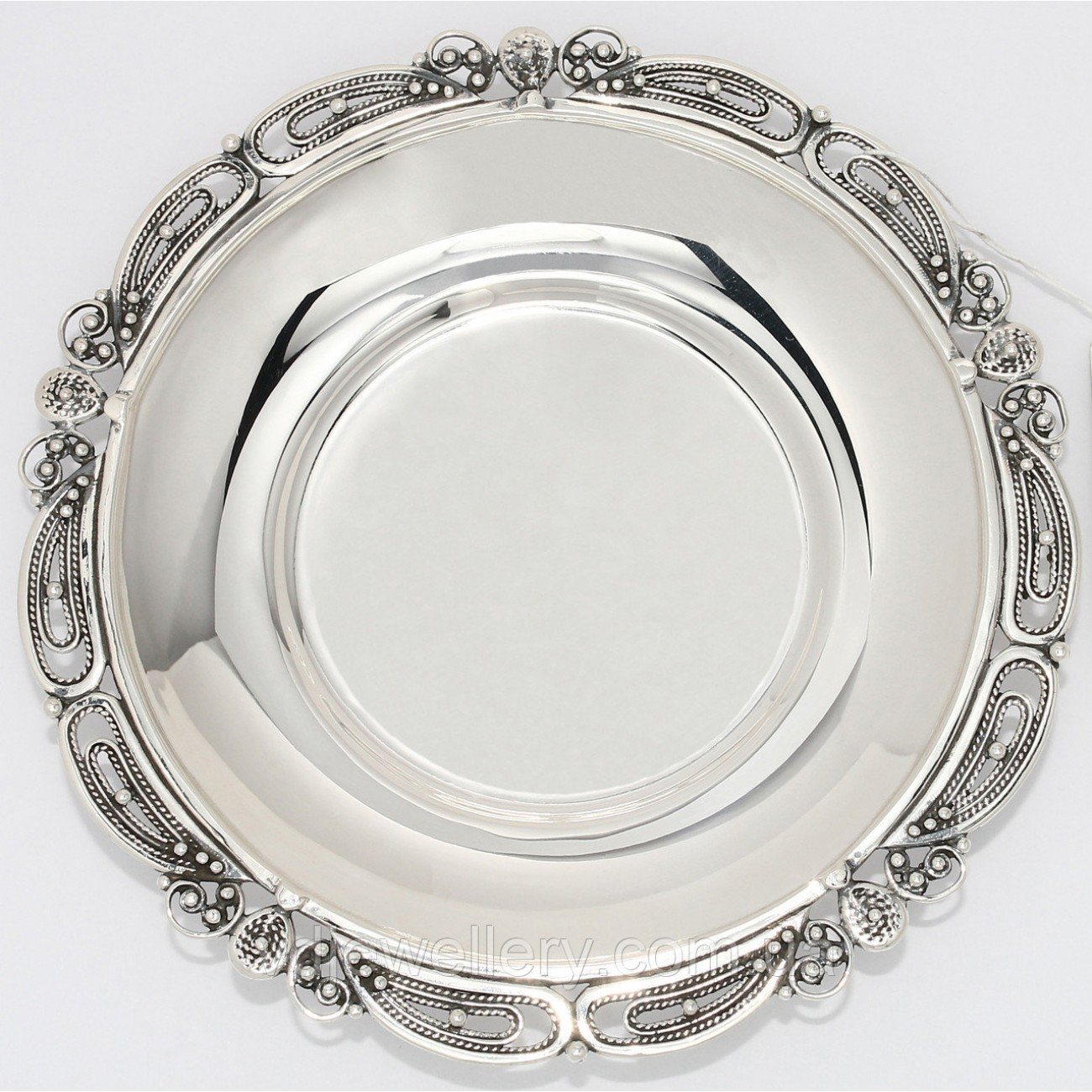 Серебряное блюдце 6ДЛ