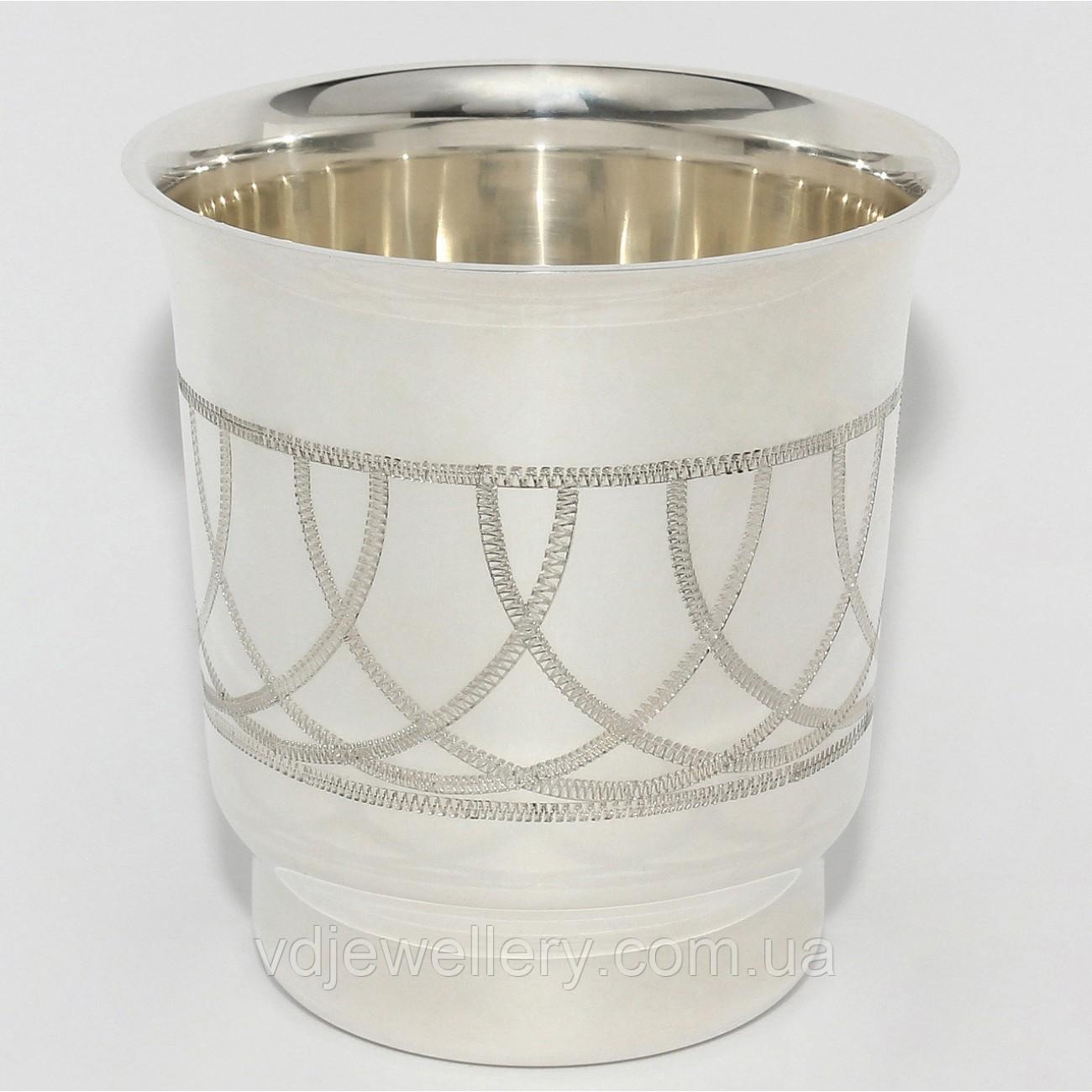 Серебряная стопка 925 проба 4ДЛ